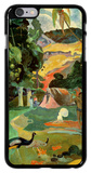 Landscape with Peacocks iPhone 6 Plus Case by Paul Gauguin