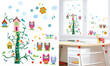 Owl Tree (Window Decal) Okenní nálepky