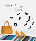 One Shoe Can Change Your Life Wall Decal Kalkomania ścienna