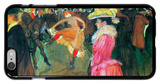 Ball in the Moulin Rouge iPhone 6 Plus Case by Henri de Toulouse-Lautrec