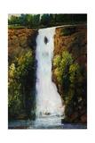 Cascade Falls Lámina giclée por Tim O'toole