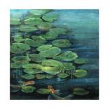 Ode to Monet I Reproduction procédé giclée par Farrell Douglass