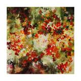 Honey Creek Floral Giclee Print by Jodi Maas