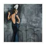 Speakeasy Giclee Print by Clayton Rabo
