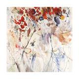 Freestyle Flowers Giclee Print by Jodi Maas