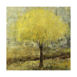 Lemon Lit Tree Giclee Print by Jodi Maas