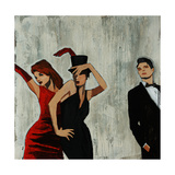 Party Favors Giclee Print by Clayton Rabo