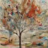 Red Bird Tree Lámina giclée por Jodi Maas