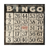 Bingo Rabo Giclee Print by Clayton Rabo