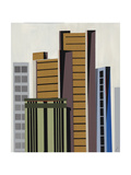 High Rise V Giclee Print by Sydney Edmunds