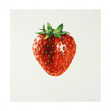 Strawberry Giclee Print by Sydney Edmunds