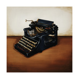 Antique Typewritter Giclee Print by Sydney Edmunds