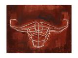 El Toro Giclee Print by Clayton Rabo