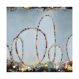 Roller Coaster Rainbow Giclee Print by Sydney Edmunds