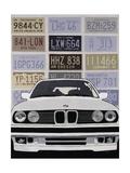 BMW Print by Clayton Rabo