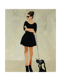 Frenchy Giclee Print by Clayton Rabo