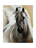 White Night Giclee Print by Sydney Edmunds