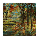Autumn Scape Giclee Print by Jodi Maas