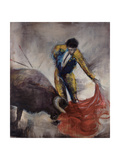The Matador Giclée-tryk af Joshua Schicker