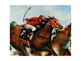 Finish Line Giclee Print by Sydney Edmunds