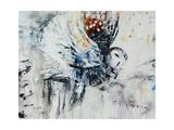 Owl in Flight Giclée-Druck von Jodi Maas