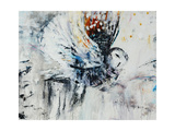 Owl in Flight Gicléetryck av Jodi Maas