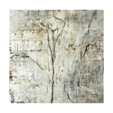 Silver Calla Lily Giclee Print by Jodi Maas