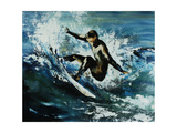 Point Break Giclee Print by Sydney Edmunds