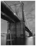 Brooklyn Bridge Shadow Prints by  Pavone