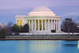 Jefferson Memorial Photographic Print by Tim Mainiero
