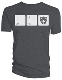 Doctor Who - Cyberman CTRL-ALT-DEL Shirts