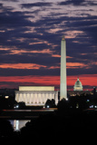 Washington Skyline Photographic Print by Matthew Carroll