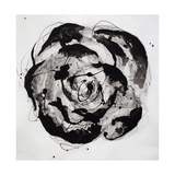Black and White Bloom II Giclee Print by Sydney Edmunds