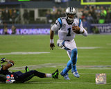 Cam Newton 2014 Playoff Action Photo