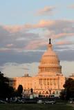 The Capitol in Washington DC at Dusk, Seen from the National Mall Valokuvavedos tekijänä  1photo