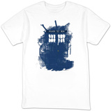 Doctor Who - Modern Art TARDIS T-shirts