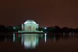 Jefferson Memorial at Night, Washington DC Posters by  sborisov