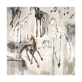 Ghost Horse Sonata Giclee Print by Jodi Maas