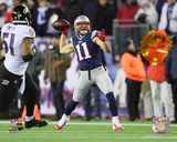 Julian Edelman Touchdown Pass 2014 Playoff Action Photo
