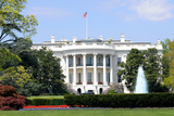 South Facade and South Lawn of the White House in Washington DC in Spring Colors Photographic Print by  1photo