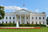 The White House - Washington DC Photographic Print by  Orhan