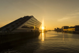 Sunset at the Dockland Photographic Print by  cooleisbaer