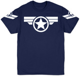 Marvel - Super Soldier Uniform T-skjorter