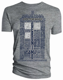 Doctor Who - TARDIS Quotes T-Shirt