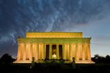 Lincoln Memorial at Night, Washington DC USA Poster by  Orhan