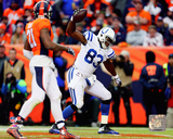 Dwayne Allen Touchdown Catch 2014 Playoff Action Photo