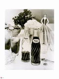Pepsi - Vintage 1958 Swirl Bottle Photograph Prints