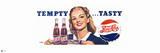 Vintage Pepsi: Tempty… Tasty Print