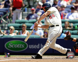 Evan Gattis 2014 Action Photo