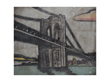 Brooklyn Bridge Giclee Print by Tyson Estes